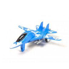 Самолет-истребитель, инерционный (синий)