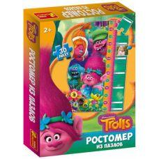 """Ростомер из пазлов """"Тролли"""""""