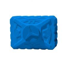 бак для воды 300 литров трехслойный синий прямоугольный