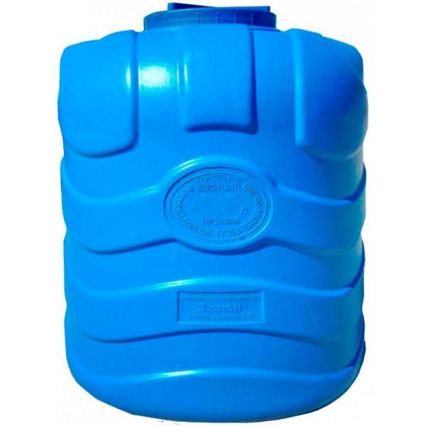 бак для воды 500 литров трехслойный синий
