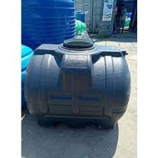 емкость 1000 литров пластбак черная горизонтальная непищевая