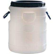 пластиковый бидон белый 30 литров