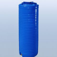 емкость 300 литров узкая вертикальная