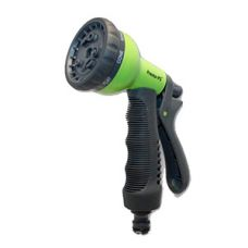 Пистолет поливочный, 8 режимов, пластик Presto-PS