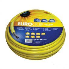 """Шланг поливочный Tecnotubi 1/2"""" Euro Guip Yellow 20 м"""