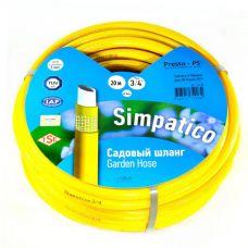 """Шланг поливочный Evci Plastic 3/4"""" Simpatico 20 м"""