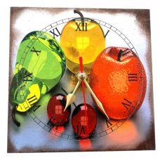 """Настенные часы """"Вишни"""" (15 х 15 см) Homade"""
