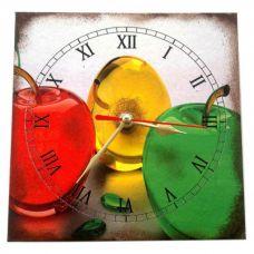"""Настенные часы """"Яблоки"""" (15 х 15 см) Homade"""