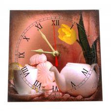 """Настенные часы """"Зефир"""" (15 х 15 см) Homade"""