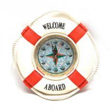 "Настенные часы ""Спасательный Круг"" (D-20 см) Homade"