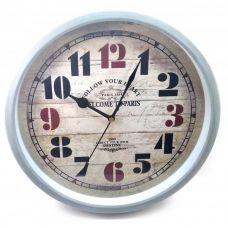 """Настенные часы """"Paris 1889"""" (D-30 см) Homade"""