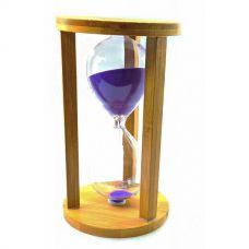 """Часы песочные """"60 минут"""" Фиолетовый Песок (19х11х11 см) Homade"""
