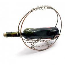 "Подставка для бутылки ""Корзина"" металл (d-27 см) Home Place"
