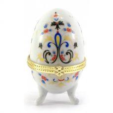 Шкатулка яйцо (7,5х5х5см) Абстракция Homade