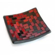 Подсвечник мозаичный (11х11х2,5 см) Homes
