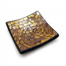 Подсвечник мозаичный (11х11х2 см) A Homes