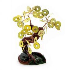 Дерево Счастья с монетами (11х12х3,5 см)