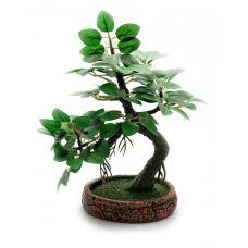 Дерево Счастья Бансай искуственный (19,5х15х9 см)