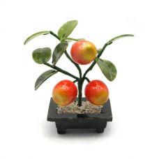 Дерево Счастья Яблоня (3 яблока) (14х8,5х6 см)