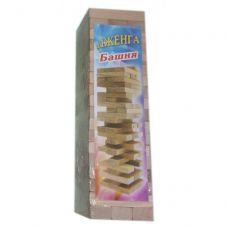 """Игра настольная """"Дженга"""", массив дерева (48 брусков) (24х7х7 см)"""