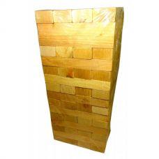 Дженга массив дерева Plays (17х17х38 см)(64шт) 30446