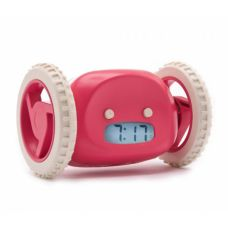 Убегающий будильник на колесиках Alarm Run Красный