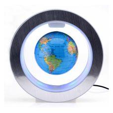 Антигравитационный Глобус (Карта Мира) Орбита Левитация с подсветкой вращающийся
