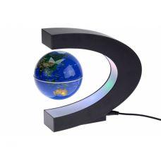 Антигравитационный Глобус (Карта Мира) Левитация с подсветкой вращающийся