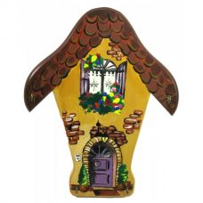 """Ключница настенная """"Прованс"""", расписано вручную, массив дерева (26х35х1,5 см)"""