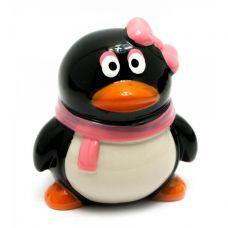"""Копилка керамическая """"Пингвин с бантиком"""" (10х8,5х8,5 см) Home Place"""