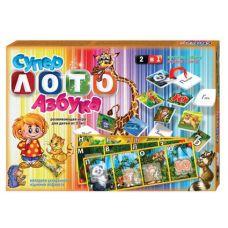 Настольная игра Супер Лото и Азбука Danko Toys DT-LA2