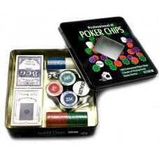 Набор для игры в покер 100 фишек, две колоды карт Darshan 23725