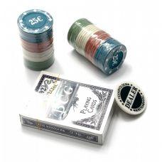 Набор для игры в покер в блистере 48 фишек, одна колода карт Darshan 25180
