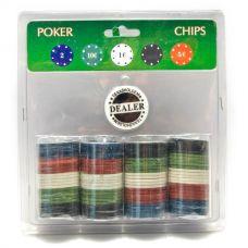 Покерные фишки в блистере 100 шт,  Darshan 26721