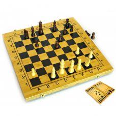 Нарды и шахматы из бамбука (29,5х29х2,5 см) 24034