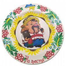 """Тарелка """"Пасечник"""" расписано в ручную (24 см)"""