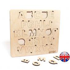 Азбука-сортер для детей, Maxi 40x1x36 см, Английский Алфавит Embi