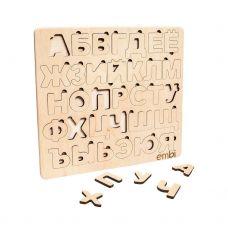 Азбука-сортер для детей, Standart 24x1x22 см, Русский Алфавит Embi