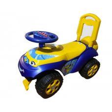 Детская Машина Толокар Каталка Автошка Сине-желтая Doloni