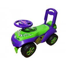Детская Машина Толокар Каталка Автошка Зеленая Doloni