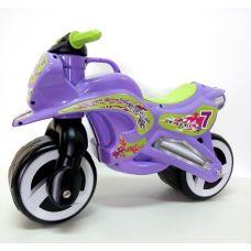 Детский Велобег Мотобайк Фиолетовый Kinderway