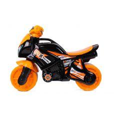 Детский Велобег Мотобайк Оранжевый Технок 5767
