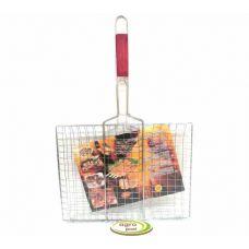 решетка для гриля и барбекю прямоугольная 30 на 40 см