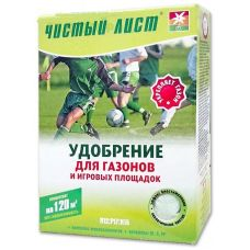 Удобрение Чистый Лист для газонов и игровых площадок 1.2 кг Kvitofor