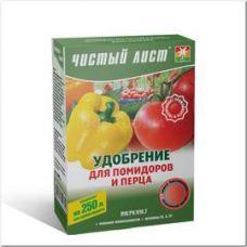 удобрение для помидора и перцев 300г чистый лист