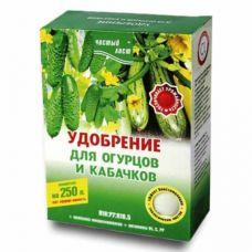 удобрение для огурцов и кабачков 300 грамм чистый лист