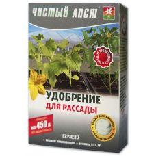удобрение для рассады 300 грамм чистый лист
