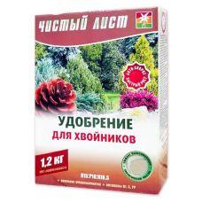 Удобрение Чистый Лист для хвойных 1.2 кг Kvitofor