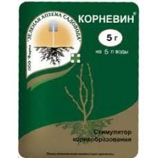 стимулятор роста корневин 5 грамм зеленая аптека садовода