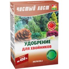 удобрение чистый лист для хвойников 300 грамм
